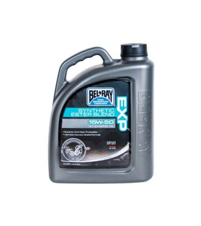 BEL-RAY EXP 15W-50 4T Engine Oil 4ltr