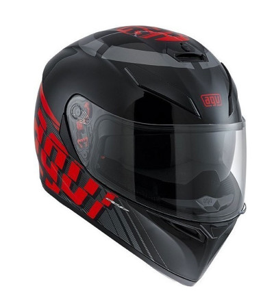 AGV K-3 SV Myth Black/Grey/Red