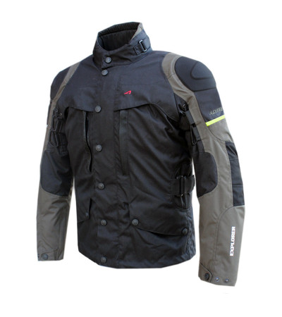 AGVpro EXPLORER Black-Grey Dry-Tex