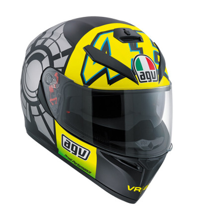 AGV K3 SV Winter Test 2012 Valentino Rossi