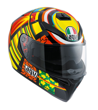 AGV K3 SV Elements Yellow/Red/Black