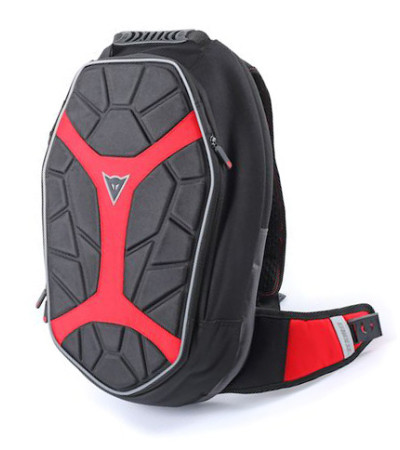 DAINESE D-EXCHANGE Backpack Small Black/Black/Red