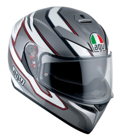 AGV K3 Mizar Dark Grey/White