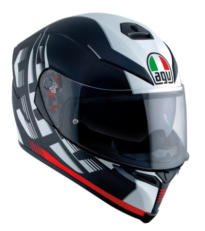 AGV K5 S Darkstorm Matt Black/Red