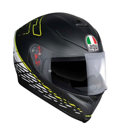 AGV K5 S Thorn 46 Matt/Blk/Wht/Yellow