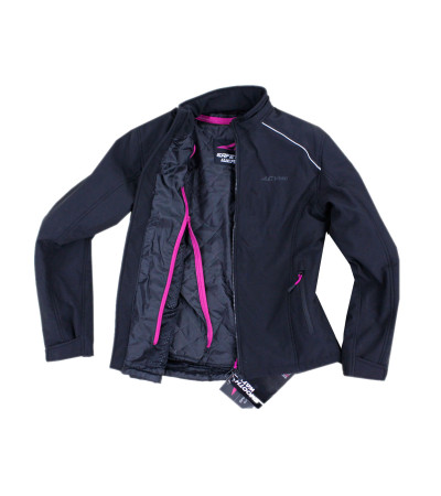 AGVpro SECRET Soft Shell Winter ladies Jacket Black