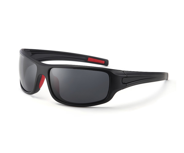 f4c0a0db6c AMERICAN OPTICAN POLARIZED PTE2116 BLACK RED    Toofast